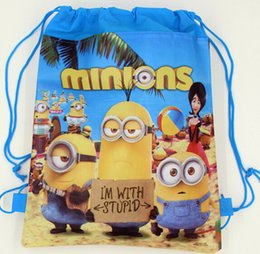Wholesale Cheap Children Handbag - 2016 New Avengers frozen ninja star wars drawstring bags backpacks handbags children school cartoon kids shopping bags Cheap 1505z