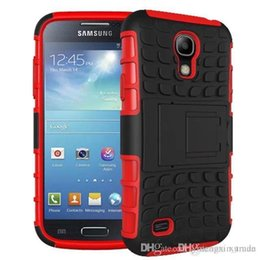 Wholesale S4 Phone Casing - For Samsung S4 phone shell, high-grade TPU + PC 2 in 1 rubber Armor Defender Hybrid Heavy Duty phone case