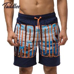 Al por mayor-Hombres Swim Beach Surf Board Pantalones cortos Trunks Bermuda  Mens Casual Cargo Swimwear traje de baño para hombre Deportes corrientes ... c5451d582bd