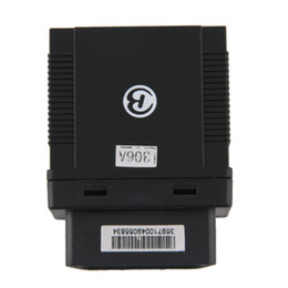 Wholesale Car Obd - TK306A OBD Auto Car GPS Tracker Vehicle Anti-theft Water-resistant Tracking Device GPS Accurate Location Real-time Tracking