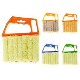 Wholesale accessories for computer - Window Cleaning Brush Creative Effective Venetian Blind Blade Clean Brushes Kitchen Accessories For Multi Colors 5 45mr C R