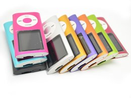 """Wholesale Sport Mp3 Cheap Wholesale - Hot Sale Cheap Real Capacity 8GB Slim 1.8"""" 4th LCD MP3 MP4 Player FM Radio Video Multi Colors DHL Free"""