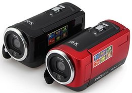 "Wholesale retail digital cameras - DHL Free shipping 16MP Waterproof Digital Camera 16X Digital Zoom Shockproof 2.7"" SD Camera Red Black retail package"