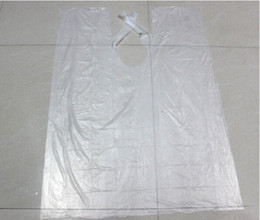 Wholesale Hair Salon Gowns - 200pc lot ,Wholesale Disposable Hair cutting Cape Salon Gown  Hair Cut Cutting Salon Stylist Cape Nylon Barber Cloth