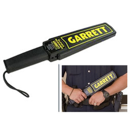 Wholesale Garrett Gold Metal Detector - Portable Metal Detector Professional Mini Garrett Handheld Metal Detector Super Scanner Superscanner with Vibrator