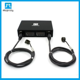 Wholesale Pc Heater - Majesty Dual Pelican Box Dnail Kit Temperature Controller Box Dnail with 2 pcs coil heaters DHL free shipping