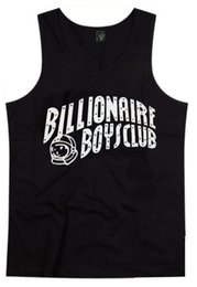 Wholesale Tshirt Vest Men - Free Shipping BILLIONAIRE BOYS CLUB T-Shirt BBC Vest Men Hip Hop Cotton tshirt O Neck billionaire Tops summer muscle tank top men