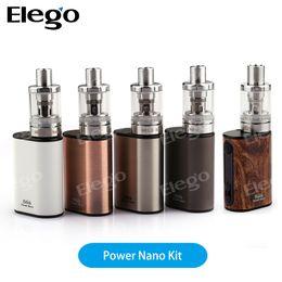 Wholesale Evic Starter - Original Eleaf iStick Power Nano Starter Kit - 40W& 2.0ml & 1100mah Small Size VS Joyetech Evic Basic Kit