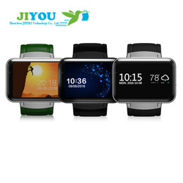 Wholesale Mobile Home Screens - Big screen GPS Smart Watch phone Bluetooth 3G Mobile Wifi Sim Card with Camera Sport Smartwatch