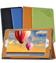 """Wholesale Film Window Coverings - Print Flower PU Leather Cover for Teclast X80 Power 8"""" Dual OS Windows Tablet Printed Floral Case + Clear Screen Protector Protective Film"""