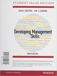 Wholesale Dvd Management - Developing Management Skills (9th Edition) 978-0133127478