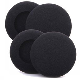 Wholesale Black Ear Pads - 50mm 100x pairs of Foam pad cushion eartip cover for wireless Headphone