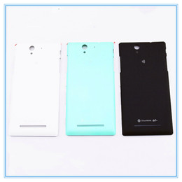Wholesale Battery C4 - Rear Housing For Sony Xperia C3 S55T S55U C4 E5333 C5 E5553 E5506 C6 F3215 F3216 Housing Back Cover Battery Case Door