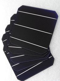 Wholesale Cells 6x6 - Energia Solar Direct 2016 Promotion 100pcs 156x156 High Efficiency 4.59w Mono Solar Cell 6x6 for Diy Panel Monocrystalline