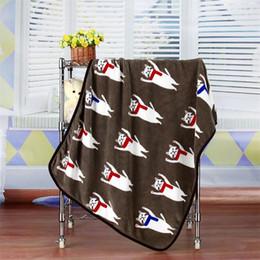 Wholesale Air Conditioner Blanket - high qualityComfortable blanke cartoon coral flannel, flannel blanket, air conditioner sofa, small quilt, cartoon pet, children nap blanket,