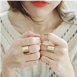 anillo de oro de los hombres baratos Rebajas Juegos de anillos Moda Marca Silver Rose Gold 18K Chapado en oro Real Mujeres Hombres Joyería Envío gratis Anillos de boda clásica Joyería barata