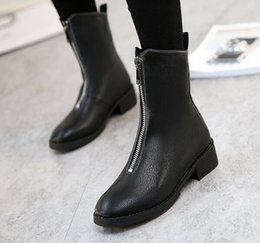 Wholesale Best Work Heels - Warm winter boots women genuine leather boots plus cotton lady boots thick wool warm cotton wool shoes best quality for women