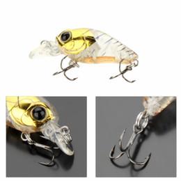 10 colores! Trulinoya DW24 35mm 3.5g 1.2m Mini Crank señuelo de la pesca de cebo duro con ganchos BKK Pesca desde fabricantes