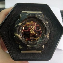 Wholesale G Shock Style Watches - Best Selling Product G 100 Style Shock Watch Waterproof Military Army Digital Watches Clock Luxury Brand Top Quality Sport Fitness Relogios