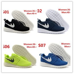 Wholesale Women Christmas Gifts Sale - Christmas gift Original London Olympic Designated Running Shoes Women and Men black white Breathable Casual Shoes Cheap Online Sales