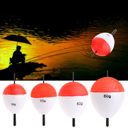 Wholesale Outdoor Rod Set - Wholesale- 10 Polystyrene Pcs   set Fishing Floats with Rods Fishing Accessory Float Fish Sea Outdoor Professional