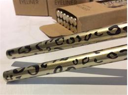 Wholesale Real Pen Eyeliner - Leopard eyeliner liquid Real Pen Eyeliner Waterproof Black Brand Cosmetic M 0.1mm+ Free Gift