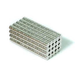 Libero artigianato diy online-Commercio all'ingrosso - In magazzino 200 pz Forte Rotonda NdFeB Magneti Dia 3x3mm N35 Terre Rare Neodimio Permanente Mestiere / Magnete fai da te Spedizione gratuita