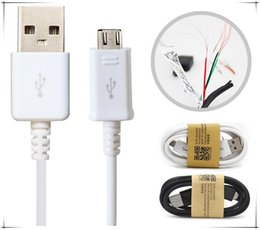 Wholesale Cell Phone Note3 - 2017 1m  3 ft cell phone usb charging cable for v8 micro data cable work with HTC one s4 s3 s5 galaxy note3 2 5 lenovo usb dhl free shipping