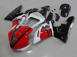 Wholesale Custom Race Fairings - New ABS motor bike fairing set custom bodywork fairings kit for YAMAHA 2000 2001 YZF-R1 00 01 YZFR1 YZF R1 YZFR1000 black white red Racing
