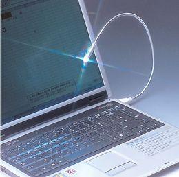 Wholesale Snake Led Lights - 10pcs Lamp Energy Saving Flexible LED Bright USB Snake Mini Light Notebook Laptop PC Night Reading Light