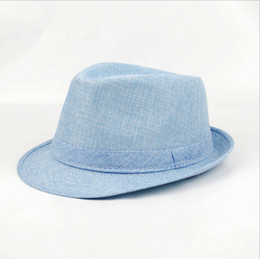 Wholesale Linen Dresses For Summer Wholesalers - New Arrived Stingy Brim Dress Hats for Women men Fashion Derby Hat for Go Out Party or Beach