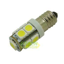 Wholesale Miniature Light Lamps - E10 EY10 T3.25 9-SMD 5050 LED White 3000K 6000K Lights Miniature Screw Bulb lamp for DIY LIONEL DC 12V