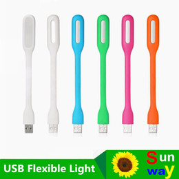 Wholesale portable notebook computer - Xiaomi USB LED light colorfur For PC Power Bank Notebook Computer Laptop Universal USB Port Portable Warm Lamp