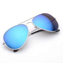 Wholesale Blue Ray Pc - Sunglasses For Men Women Designer Mirror Sunglass Top Quality Hexagon Classic Luxury Brand Sun Glasses Aviator UV400 Rays Driving Fishing