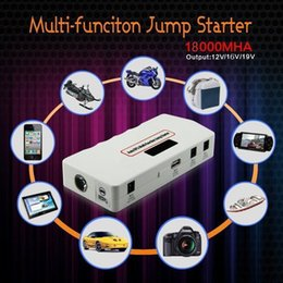 Wholesale Banks Autos - Car Jump Starter High-capacity Battery Charger For Auto Vehicle Starting and Mobile Power Bank for Smartphone Laptop 12V Multi-function