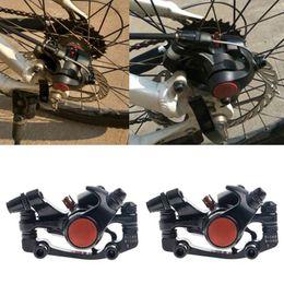 Wholesale Front Brake Caliper Bike - Bike Disc Brakes Front Rear Mechanical Caliper Road Mountain Cycling Bicycle New