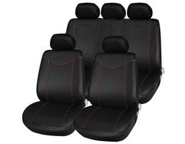 Wholesale Used Middle - Universal Low-back Car Seat Cover Set Four Seasons Auto Car Cushion with 2mm Thick Sponge in Middle Comfortable Durable to Use