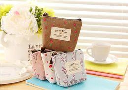 Wholesale Leather Polka Handbag Dots - Women's Lady Small Canvas Purse Zip Wallet Coin Key Holder Case Bag key wallet bag Handbag 2015 Hot selling Retro ZD040