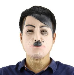 Wholesale Famous Halloween Masks - Hot New Halloween Party Cosplay Famous person famouse Man Face Mask Latex Party Real Human Face Mask Cool realistic mask
