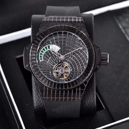 Wholesale Nice Automatic Watches - 2017 New arrivel hub mens automatic black watches sapphire glass waterproof watch AAA nice quality wristwatches