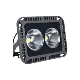 Wholesale Out Door Lamp - DHL free shipping Epistar LED COB floodlight projection lamp 50W 100W 150W 200W out door water proof projector lighting AC85-265V