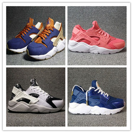 Wholesale Id 46 - Original 2017 Hot Sale Air Huarache iD Ultra Run Sports Shoes Men Women Huaraches Customise Running Shoes Trainer Sneakers Size 36-46