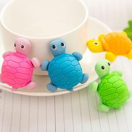 Frete Grátis New Bonito Criativo tartaruga Estilo Eraser / Engraçado Eraser / Estudo de Escritório Borracha Eraser / 36 pçs / lote de