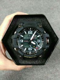 Wholesale Compass Watches Military - GG1000 Shock Digital LED Men g Quartz Sports Watch G Compass Thermometer Army Military Clock Waterproof watche Men's Relogio Masculino