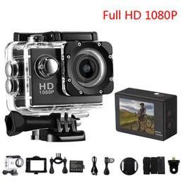 esportes escondidos da câmera Desconto Mais barato Cópia SJ4000 1080 P Full HD HDMI Mini Câmera de Ação com Tela LCD de 2 polegadas 30 Metros Impermeável DV Capacete Câmeras Esporte Presente