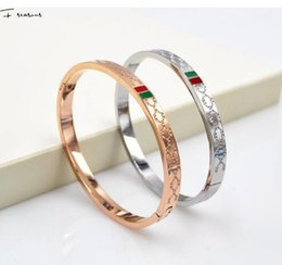 Wholesale Offering Plates - The new high-quality selling wholesale special offer exquisite fashion new Korean G titanium rose gold bracelet female models