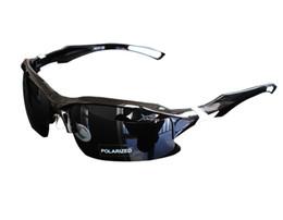 Профессиональные солнцезащитные очки онлайн-Оптовая / розничная мужская 40 мм X 70 мм профессиональный поляризованные спортивные мужчины Велоспорт велосипед очки Рыбалка работает солнцезащитные очки