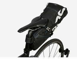 Wholesale Road Bike Bags - ROSWHEEL 131414 Bicycle Seatpost Bag Bike Saddle Seat Storage Pannier Cycling MTB Road Rear Pack Water tight Extendable 8L 10L