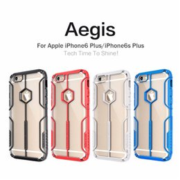 Wholesale Aegis Case - Nillkin Aegis Neo Hybrid Tough Armor Slim Cover Cases For Apple iPhone6 6s Plus 5.5'' Phone Bag Back Covers crashproof case