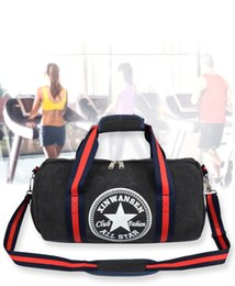 Wholesale Printed Canvas Duffel Bag - 171105003 Hot Outdoor girl women Sport printing Multi function canvas Gym Fitness Training Shoulder Bag hand bag Travel excursion package